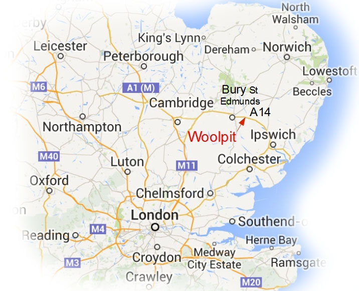 Rochford Pianos is 2 minutes from A14 Junction 47, easy access from Cambridge , Ipswich London and Norwich