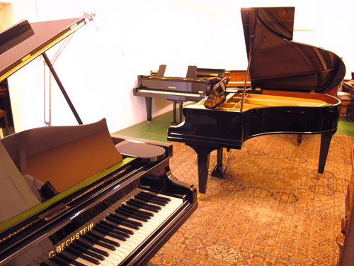 Rochford Pianos have an excellent selection of  new and finely restored grand pianos